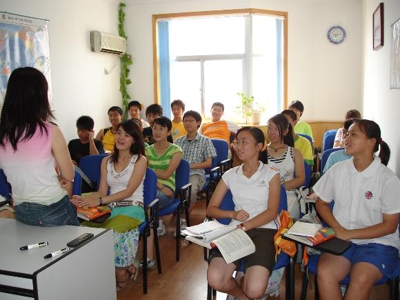 【青岛英华外语培训学校】-学校环境